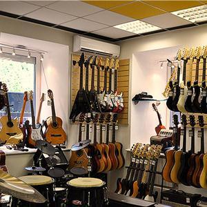 Музыкальные магазины Александровской