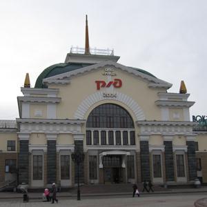 Железнодорожные вокзалы Александровской
